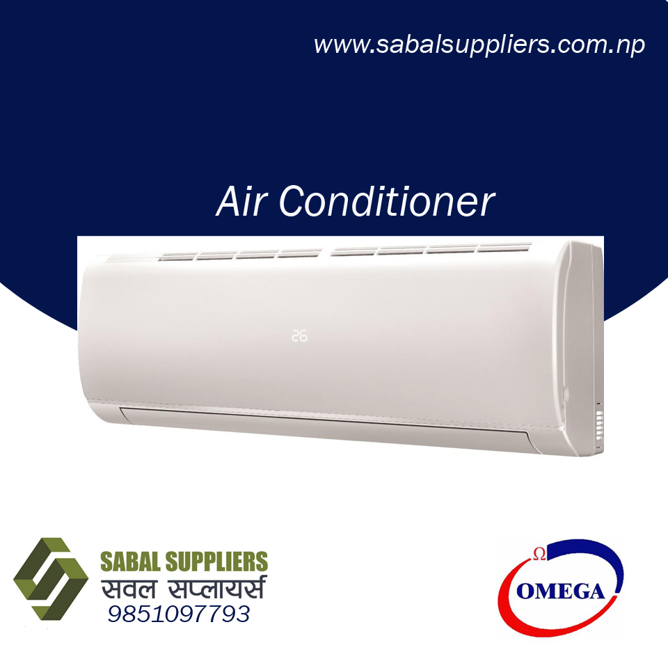 Omega Brand 1.0 Ton Wall Mounted Air Conditioners