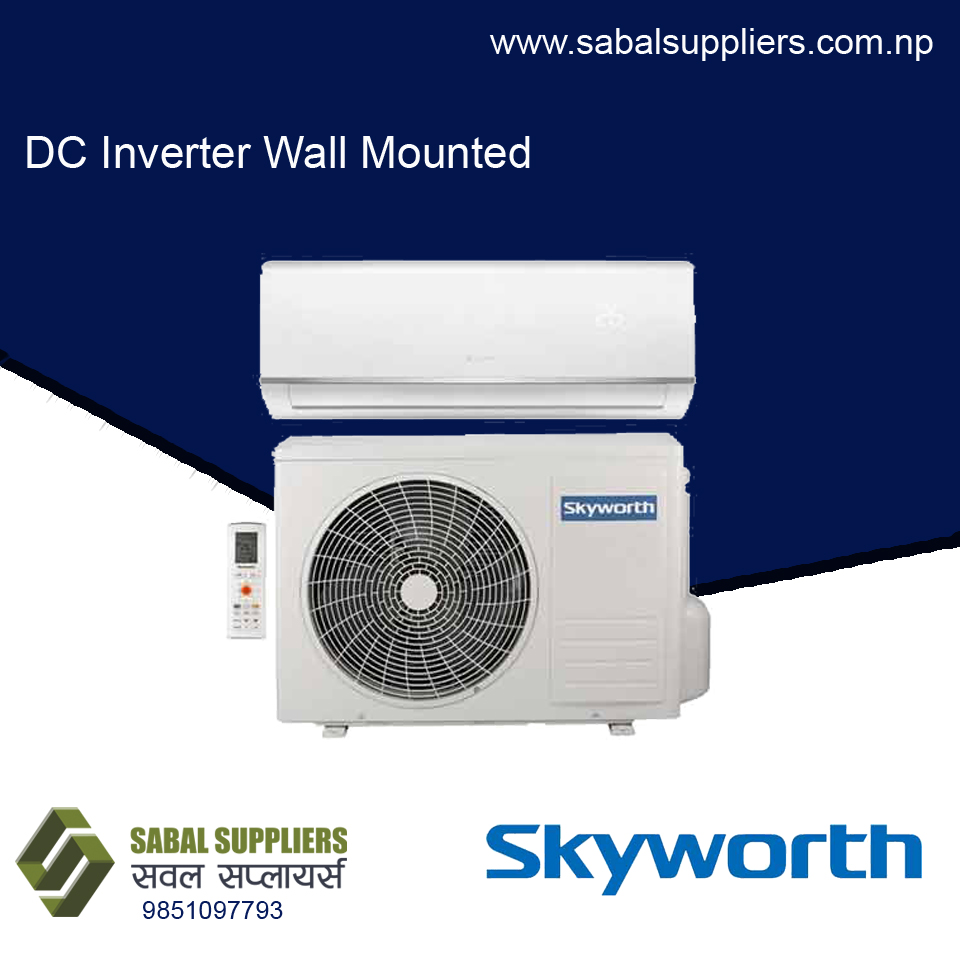Skyworth  Dc Inverter Wall Mounted 1.0 Ton Ac