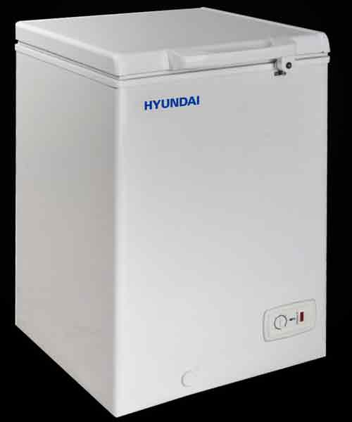 HYUNDAI Hard Top Chest Freezer 100 Ltr