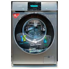 Skyworth 8 kgs Front Loading Washing Machine with Touch Screen (F80230MB)