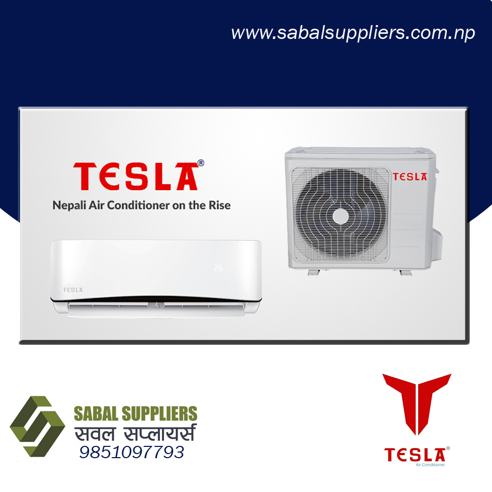 Tesla 1.5 Ton Hot & Cold Air Conditioner-White